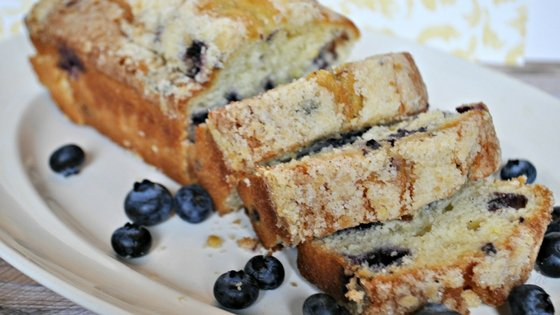 Easy Blueberry Lemon Bread Recipe