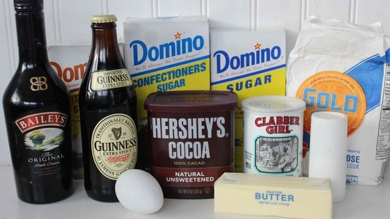 Guinness Chocolate Baked Donuts with Baileys Glaze
