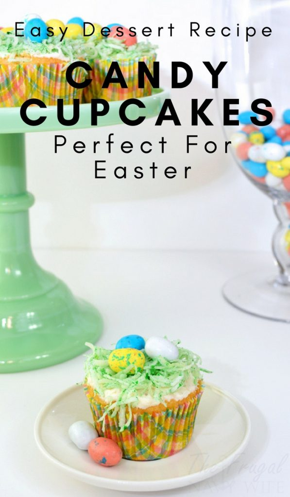 Candy Easter Cupcake Recipe