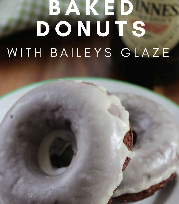 Guinness Chocolate Baked Donut Recipe with Baileys Glaze