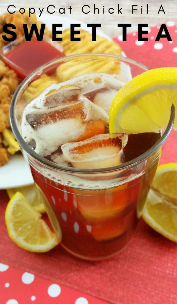Copycat Chick Fil A Sweet Tea Recipe