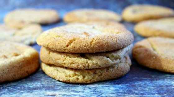 This Snickerdoodle recipe is a classic. The basic old fashion recipe hasn't changed one bit other than more fluffy and chewy. They are just like mom used to make! #cookies #cookierecipe #snickerdoodles #thefrugalnavywife #oldfashionedrecipe | Snickerdoodle Recipe | Snickerdoodles Cookies | Cookie Recipes | Old Fashioned Recipes