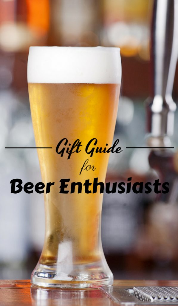 Beer lovers love to make beer. Most that make their own beer will continue to do it as a hobby and these beer enthusiast gifts cater to that crowd. #beer #giftguide #thefrugalnavywife | Making Beer | Gift Guide | Beer Enthusiasts