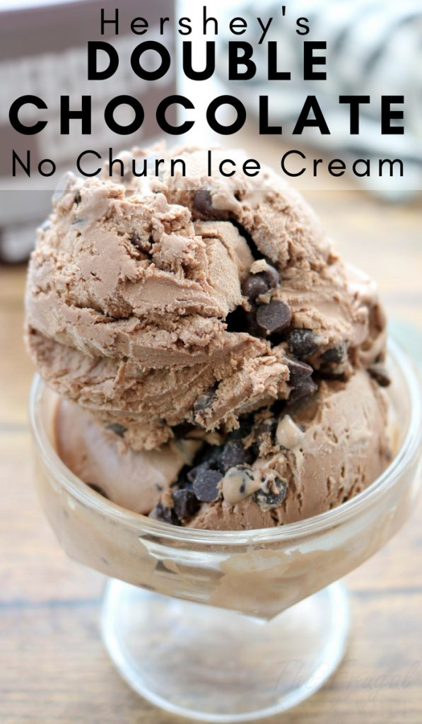 When I started myventure into the no churnice cream faze of course it had to be with thischocolate No-Churn Ice Cream recipe! So Simple! #icecream #nochurn #thefrugalnavywife #chcoclate | Dessert Recipes | Ice Cream Recipes | No Churn Ice Cream | Chocolate Recipes
