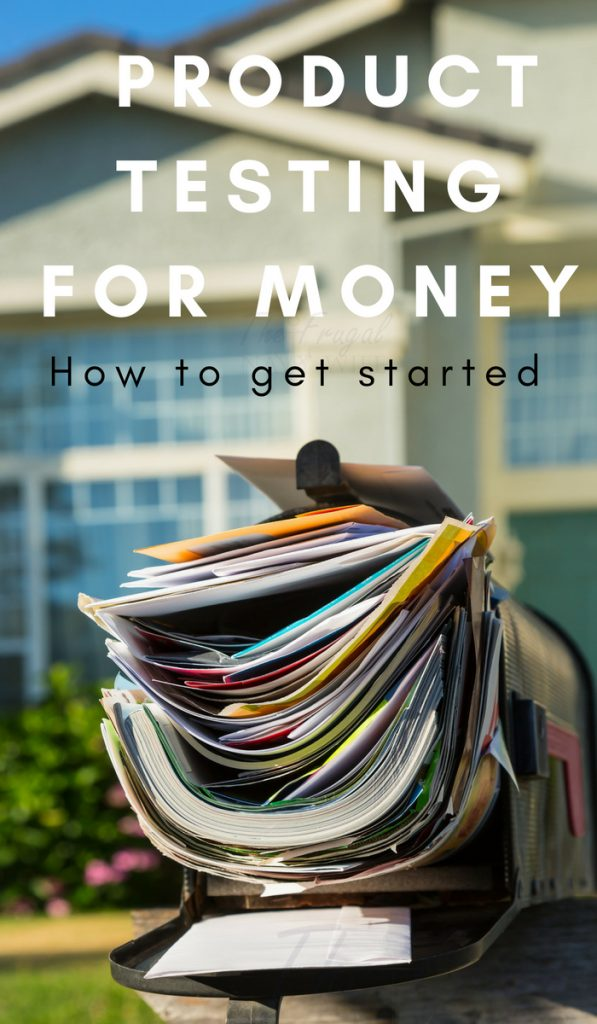 You never know how a product will fit your needs, but many panels will not only have you test their products but will pay you to do so. Here is how to get started Product Testing for Money. #makemoneyfromhome #workfromhome #makemoneyonline #thefrugalnavywife | Work From Home | Make Money Online | Side Hustles