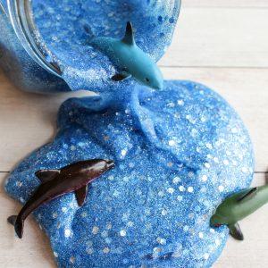 Dolphin Ocean Slime – Borax Free!