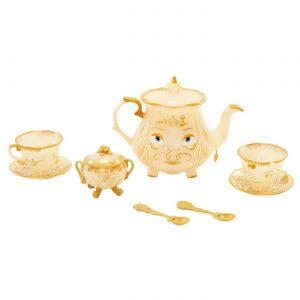 Disney Beauty and the Beast Enchanted Objects Tea Set