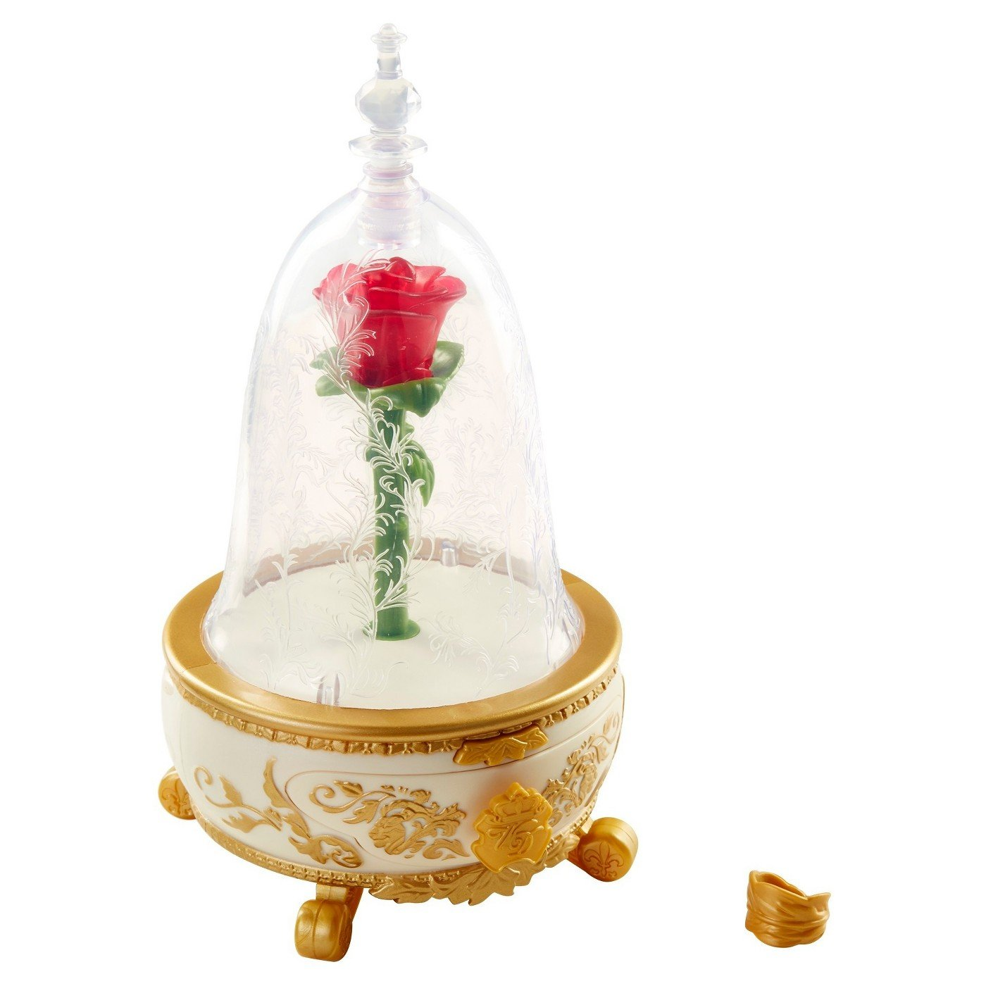 Disney Beauty and the Beast Enchanted Rose Jewelry Box
