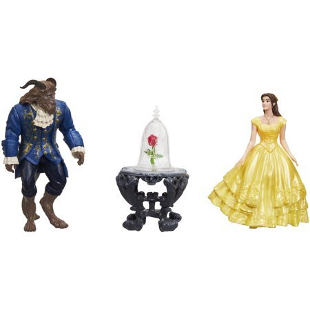 Disney Beauty and the Beast Enchanted Rose Scene