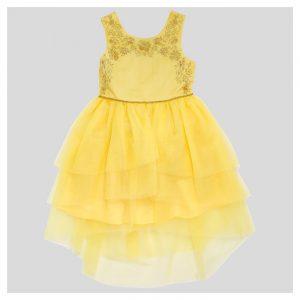 Girls' Beauty and the Beast Dress - Yellow