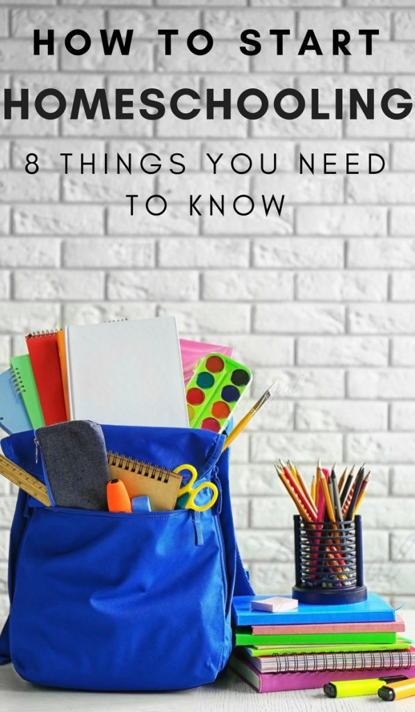 Millions of Americans are already homeschooling their kids. Wondering how to start homeschooling? Here are 8 things you need to know. #homeschooling #thingstoknow #frugalnavywife | Homeschooling | Info On Homeschooling | Homeschooling Tips |