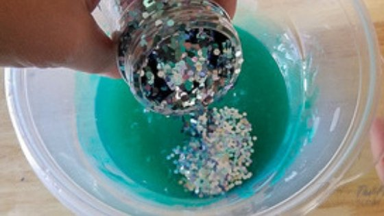 The Best Mermaid Slime Recipe you will find. The Mermaid lover in your life will love making this mermaid slime to play with. #mermaid #slimerecipe #mermaidslime #kids #frugalnavywife   Slime Recipes   Mermaid Slime   How to make slime   Kids Activity