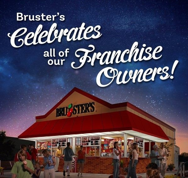 Bruster's Real Ice Cream Franchise Owners #BrustersMil #ad #BeYourOwnBoss