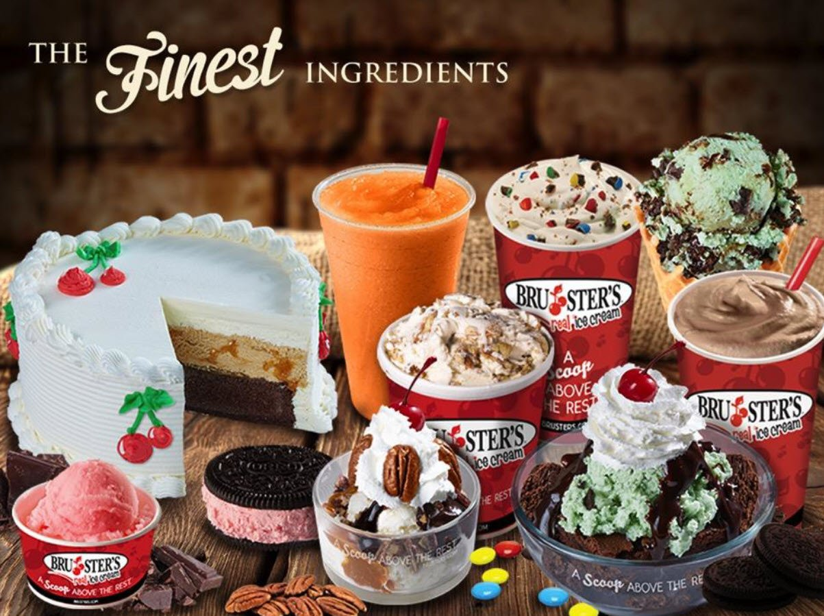 Bruster's Real Ice Cream The Finest Ingredients