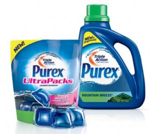 Purex 300x268 Its Back!! Free Sample of Purex Laundry Detergent