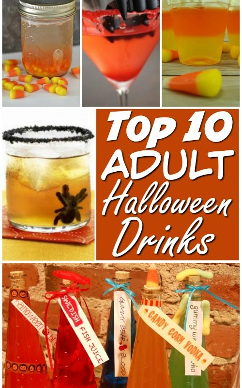 Top 10 Adult Halloween Drinks and Halloween Snacks