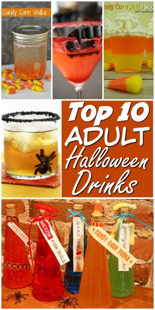 Top 10 Adult Halloween Drinks And Halloween Snacks
