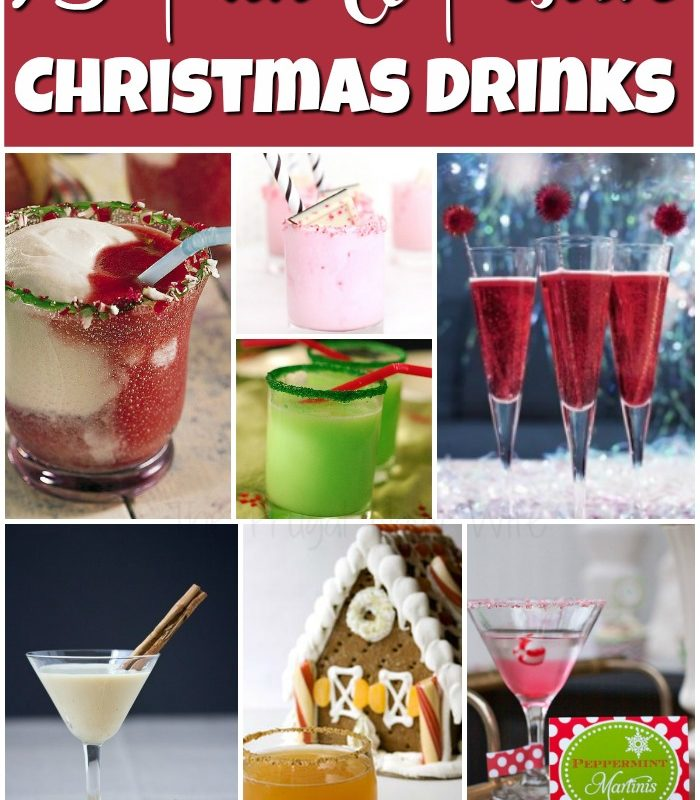 15 Fun Christmas Drinks!