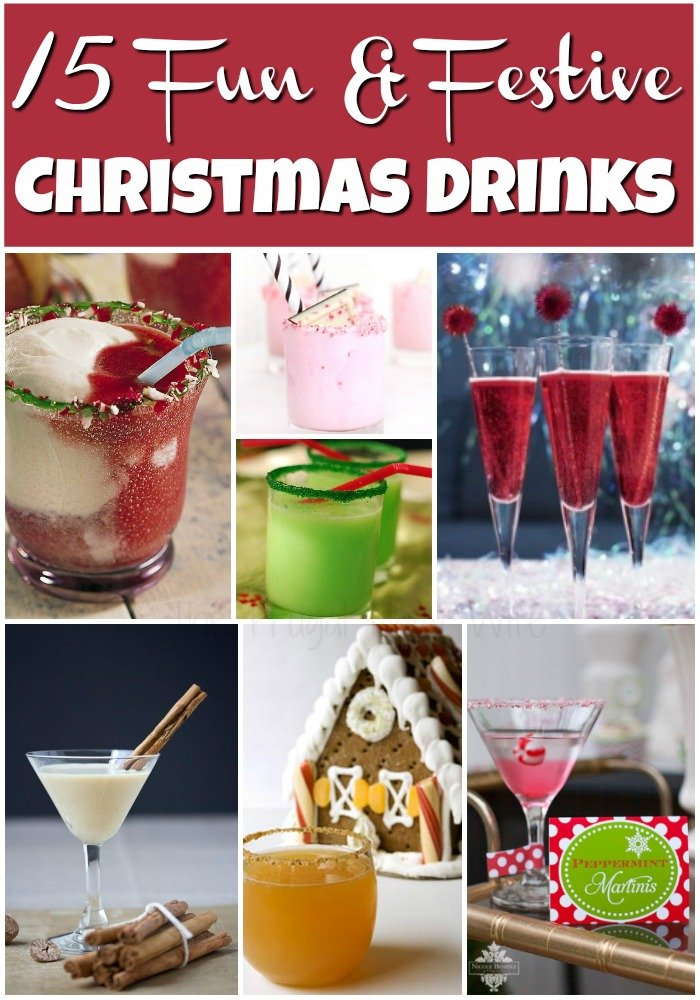 15 easy fun christmas drinks my top favorites for Fun easy party drinks