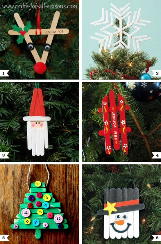 10 fun and easy kids christmas crafts the frugal navy wife
