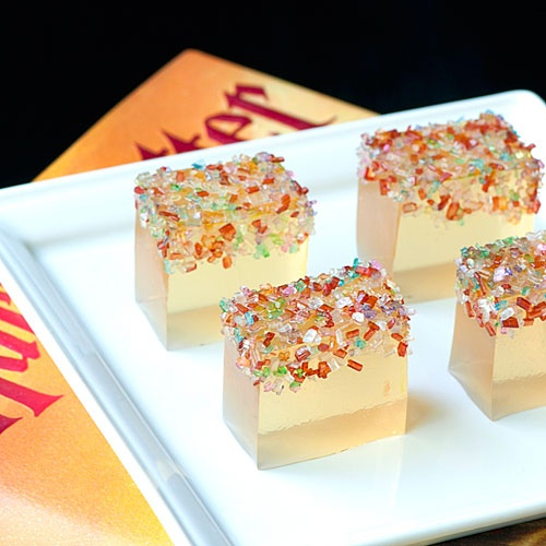 Butter Beer Jelly Shots, photo courtesy of Jelly Shot Test Kitchen