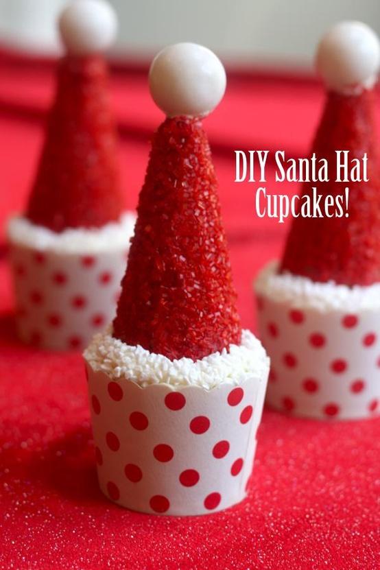Santa-hat-dessert
