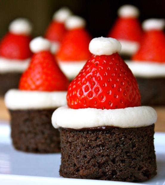santa-brownie-hat