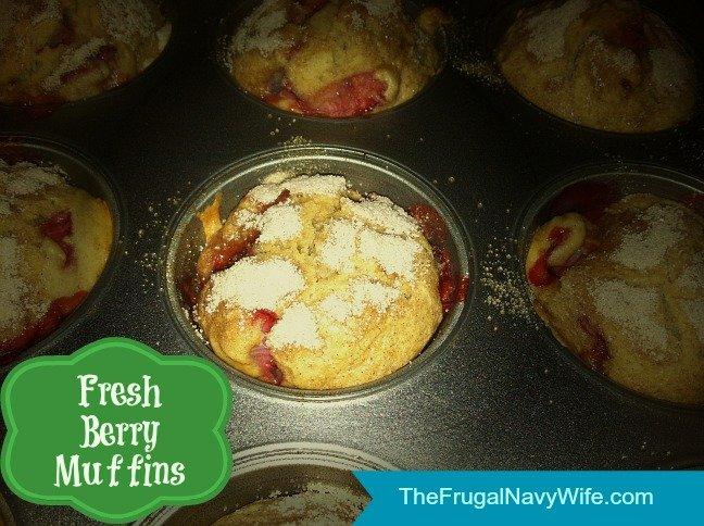 Fresh Berry Muffins