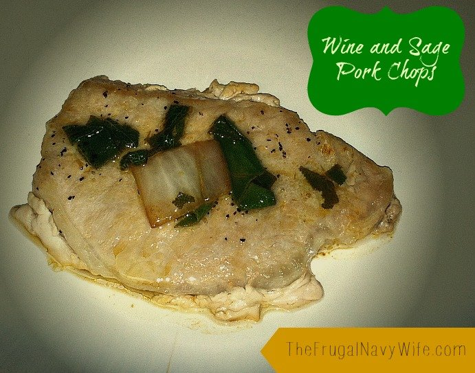 Wine and Sage Pork Chops