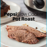 Put a twist on your Pot Roast Recipe with this Pepsi Slow Cooker Pot Roast. The Family will love it, and you will love how simple it is. #frugalnavywife #potroast #dinner #slowcooker #crockpotrecipe #pepsi   Pot Roast Recipe   Crockpot Recipe   Slow Cooker Recipe   Dinner Ideas   Beef Dinner Ideas   Pot Roast Ideas   Easy Dinner Ideas   Pepsi Slow Cooker Pot Roast
