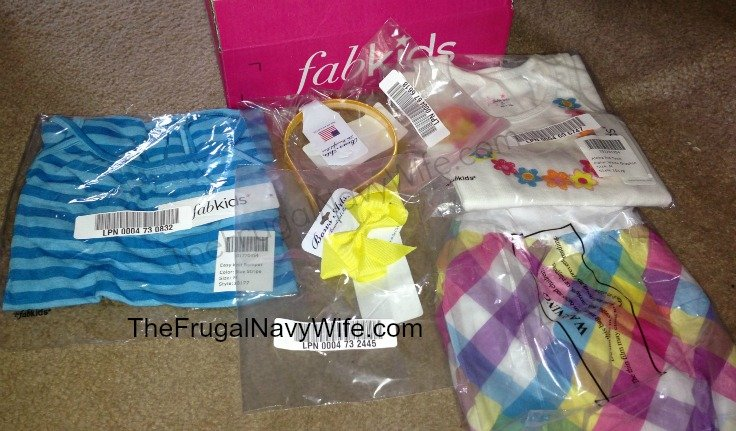 Free $102 in Fabkids Outfits!