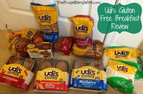 Udi's Gluten Free Breakfast Review