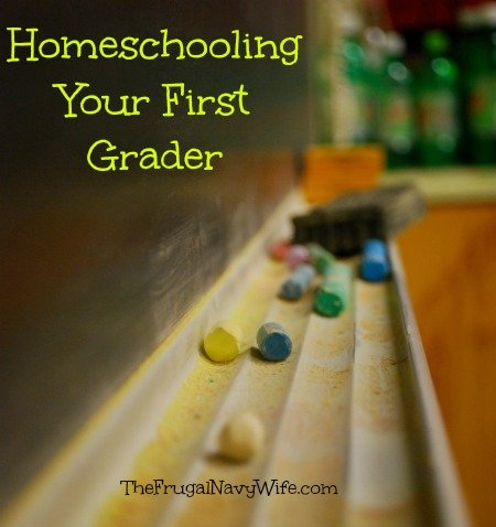 Homeschooling Your First Grader
