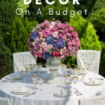 Need ideas for wedding reception decorations for the reception of your dreams while saving some serious cash? Here are 6 ideas to help you out. #wedding #frugalwedding #budgetwedding #weddingreception #weddingdecorations #frugalnavywife   Weddings   Wedding Decor   Wedding Receptions   Frugal Wedding Tips   Budget Weddings