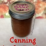 Lover of Apple Butter? Me too! Here is my favorite recipe and tips on Canning Apple Butter to make your experience the best! #canning #canningrecipe #applebutter #frugalnavywife   Canning Recipes   Canning Tips   Canning Apple Butter   Apple Butter Recipes   Jelly Recipes   Spread Recipes  