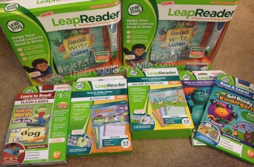 Our Leap Frog's LeapReader Ready, Set, Read & Write Party!
