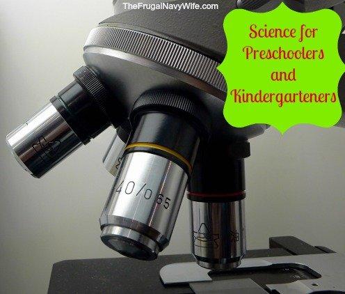 Science for Preschoolers and Kindergarteners