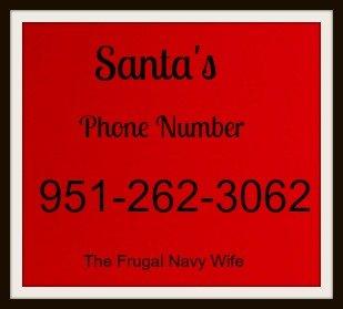 Call Santa! Santa's Phone Number!