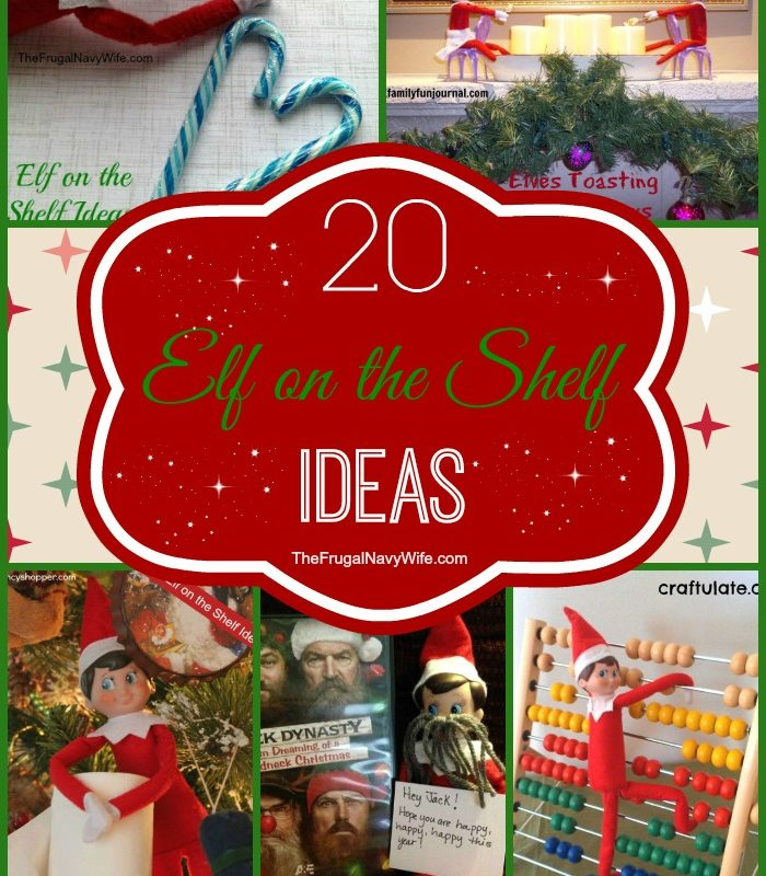 20 Elf on the Shelf Ideas Round Up