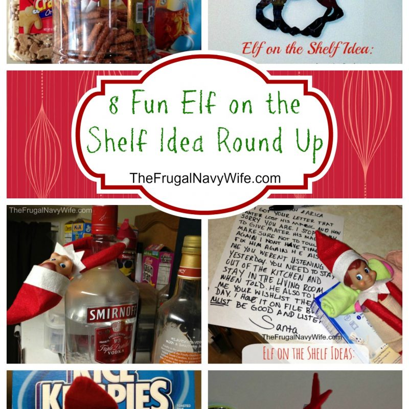 8 Fun Elf on the Shelf Idea Round Ups
