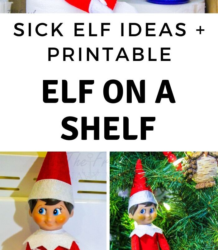 OH NO! Sick Elf on the Shelf Letter + A Few More Sick Elf Ideas