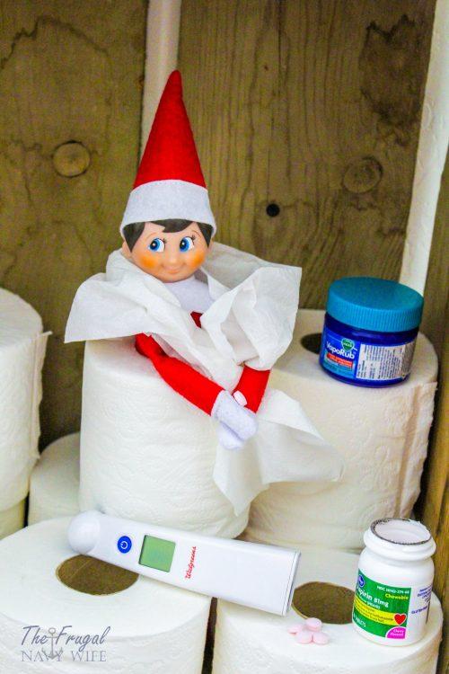 Sick Elf on the Shelf Letter