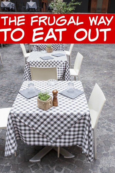 Tips for Frugally Eating Out