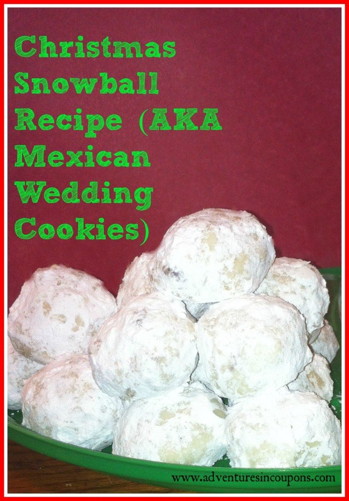 ... Snowball Cookies Recipe (Also Known As Mexican Wedding Cookies