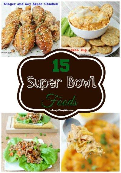 15 Super Bowl Foods Round-Up
