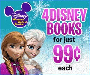 4 Disney Story Books + Activity Book for $3.96 Shipped Now with Frozen Story Books!