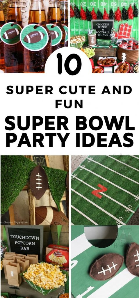 Is your house where everyone comes to gather for sports events? Here are some great Super Bowl Party Ideas for your next football gathering. #football #superbowl #frugalnavywife #tailgating | Tailgating Ideas | Super Bowl Party Ideas | Football Party Ideas