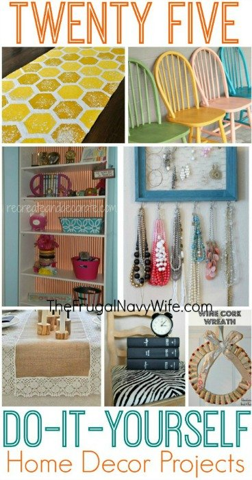 25 diy home decor projects - Home decoration pics ...