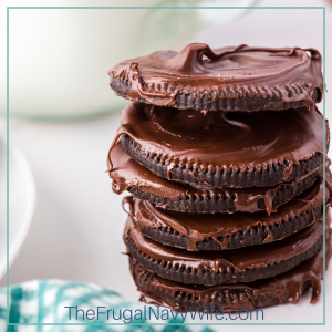 There's no denying that thin mint cookies are the best girl scout cookie—their minty, chocolatey goodness is downright addictive! #frugalnavywife #thinmintcookies #girlscoutcookies #copycatrecipes #cookies | Thin Mint Cookies | Girl Scout Cookies Recipes | Copycat Thin Mint Cookies Recipes | Cookies Recipes | Easy Recipes
