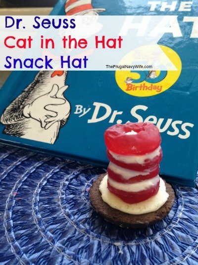 Dr. Seuss Cat in the Hat Snacks